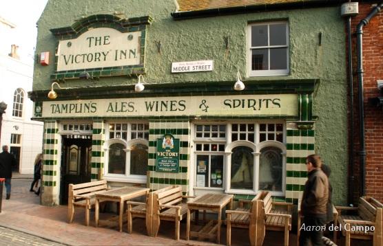 Un pub con más de 200 años de historia.