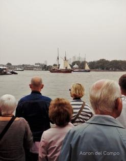 Tall Ship Festival. Durante todo un día espectaculares barcos de vela desfilan por Greenwich.