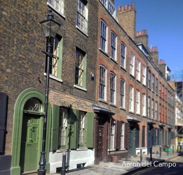 Aún quedan ejemplos del Londres Victoriano en pleno centro.