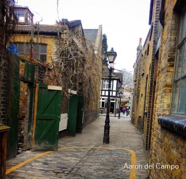 ¿Os imagináis este callejón hace más de 100 años?