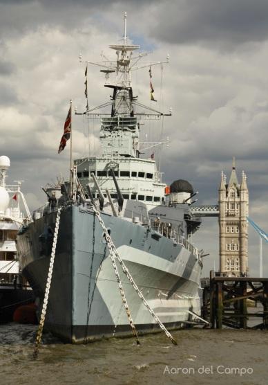 HMS Belfast, hoy un barco museo.