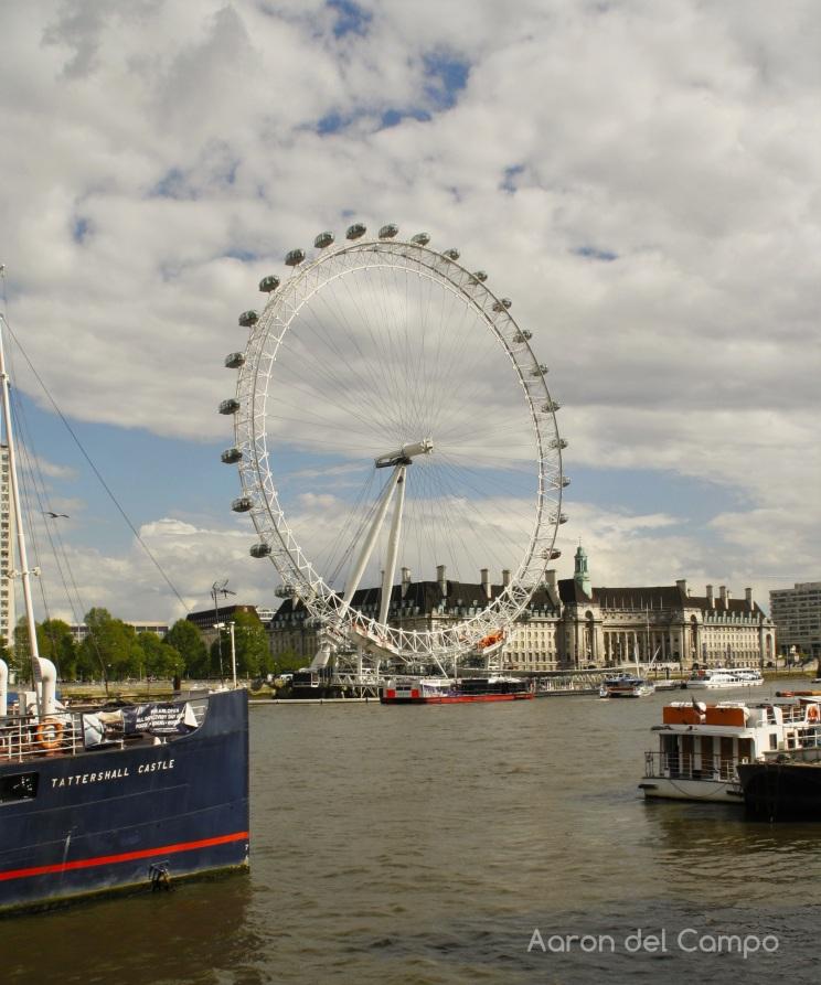 El London Eye, la noria panorámica.